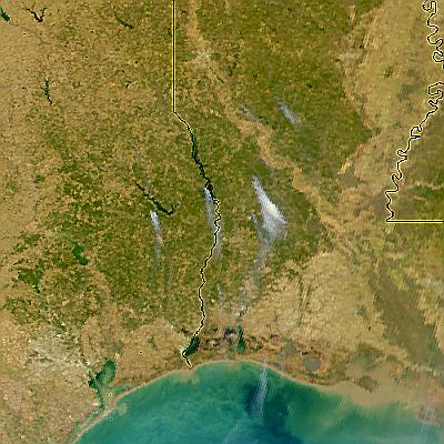 Fires in Texas and Louisiana - related image preview