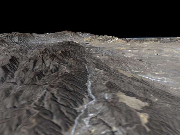 Perspective View, San Andreas Fault - related image preview