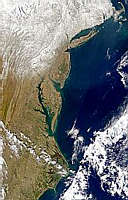 U.S. Mid-Atlantic Snow Cover - selected image
