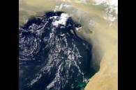 Sandstorm Over the Canary Islands