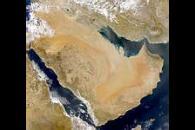 Saudi Arabia and Dust Over Persian Gulf