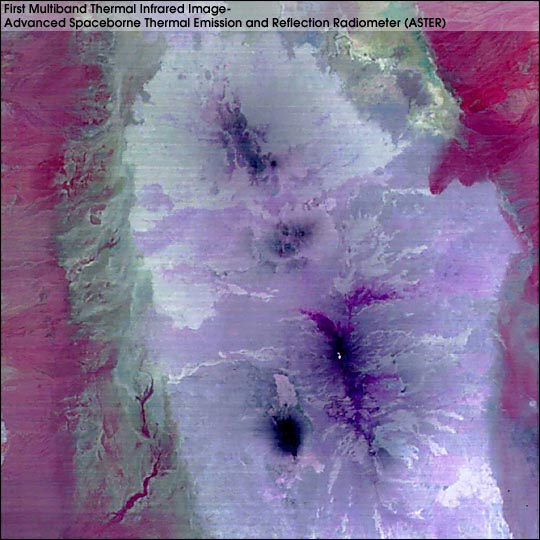 Thermal Infrared, Afar Triangle, Ethiopia - related image preview