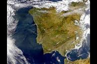 Portugal and Spain Smoke Plumes