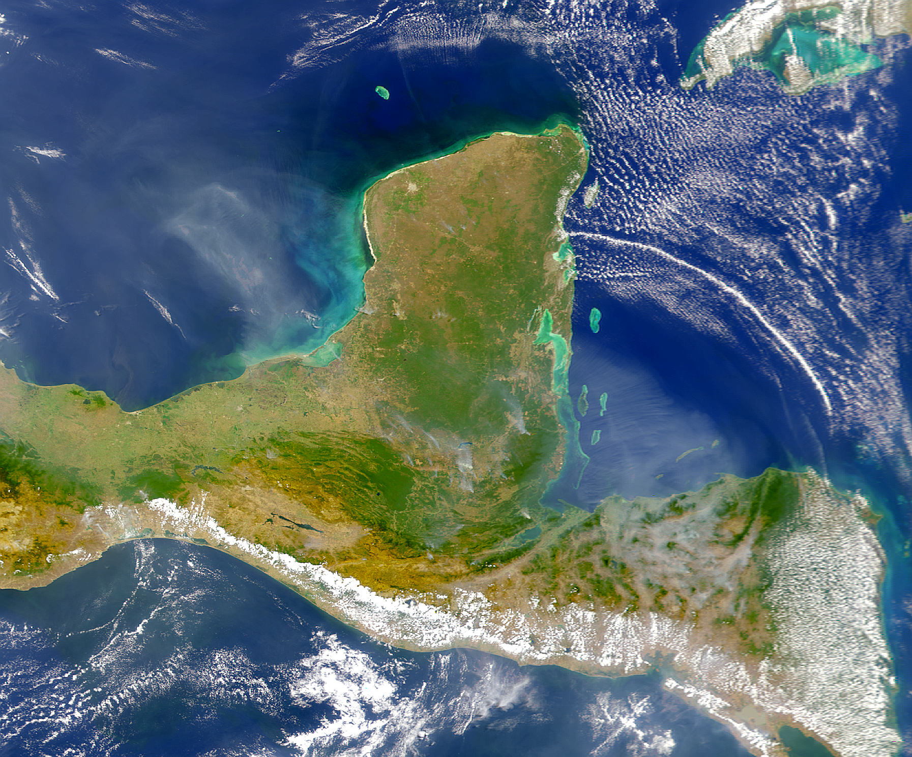Smoke in Central America - related image preview