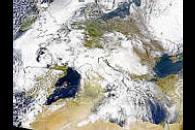 Dust Over the Mediterranean
