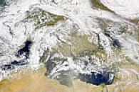 Dust Over Italy and Balkans