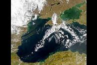 Dust or Smoke Over the Black Sea