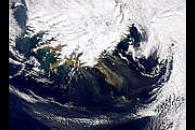 Iceland Smoke or Dust