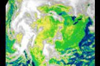 CERES Shortwave Radiation over North America