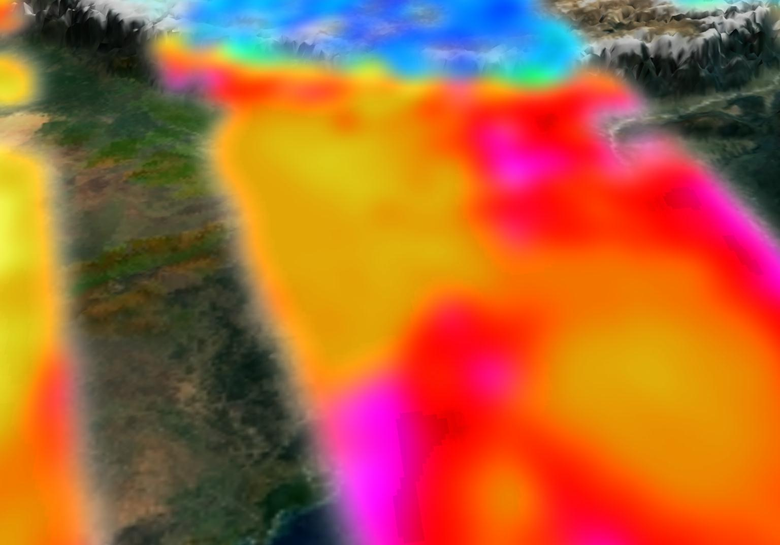 MOPITT Carbon Monoxide Over India - related image preview