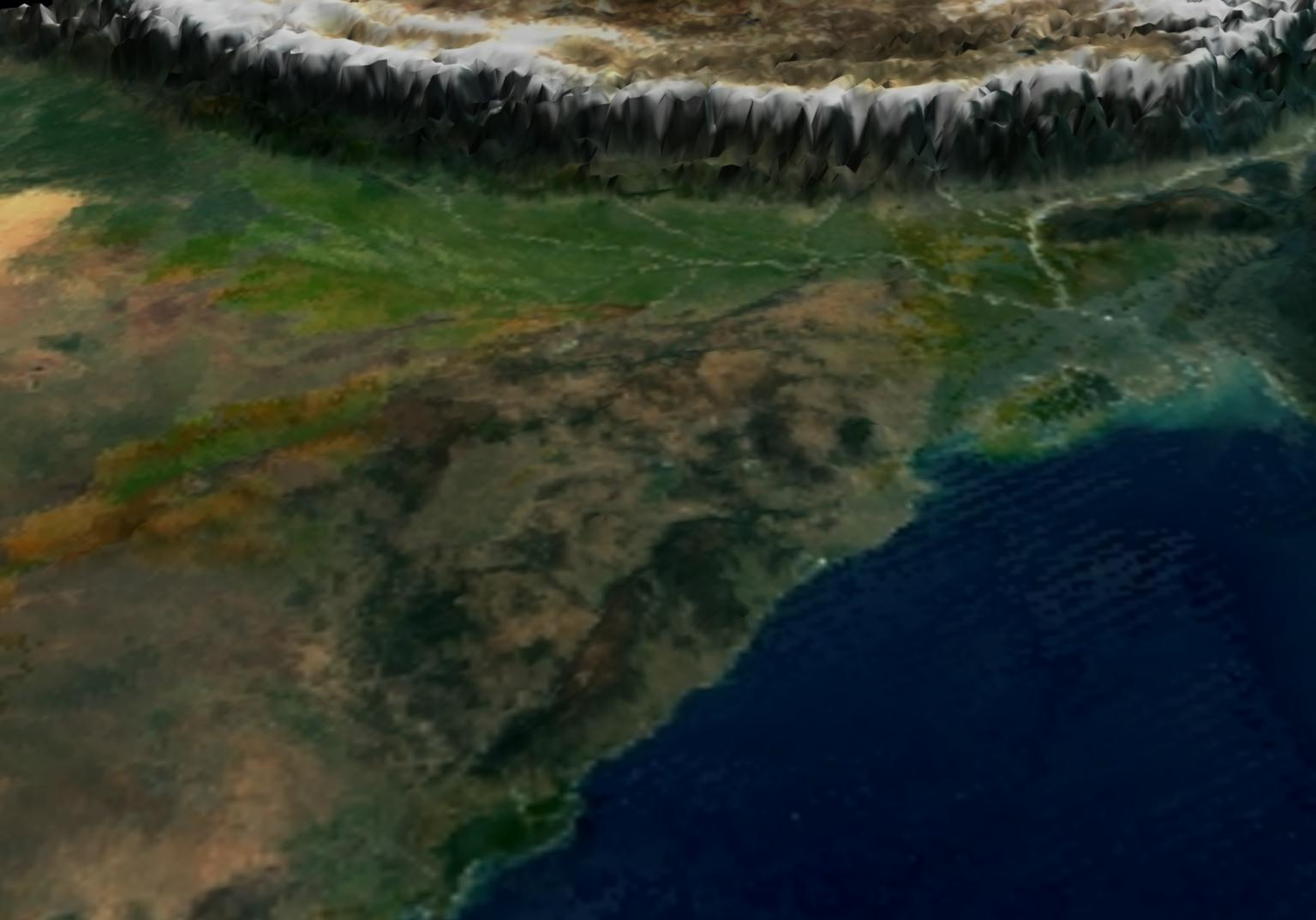 Surface Reflectance Over Indian Sub-continent - related image preview