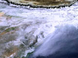 MODIS Water Vapor - selected image