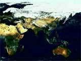 Chlorophyll Around Indian Subcontinent - selected image