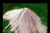 Mt. Fuji Flyby Animation
