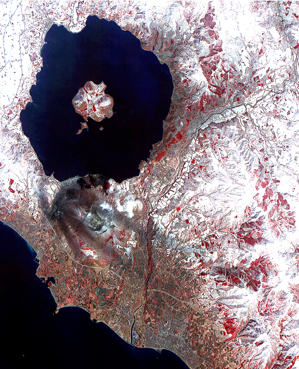 ASTER View of Mt. Usu, Japan - related image preview