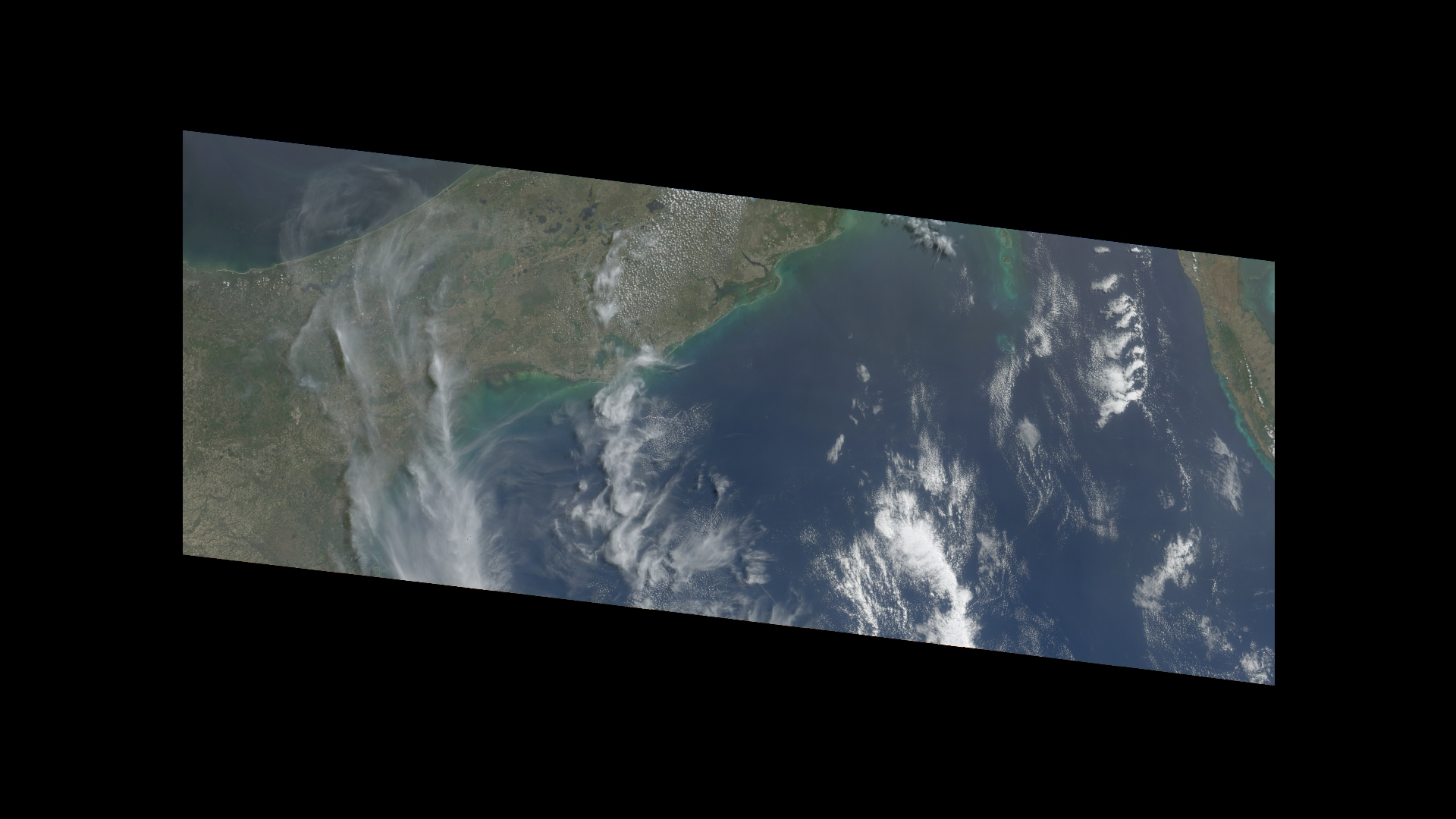 Florida Clouds from MISR - related image preview
