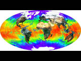 Global Surface Reflectance and Sea Surface Temperature - selected image