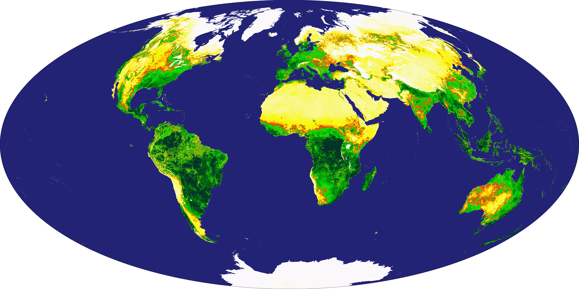 Global Vegetation Index - related image preview