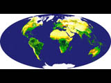 Global Vegetation Index - selected image