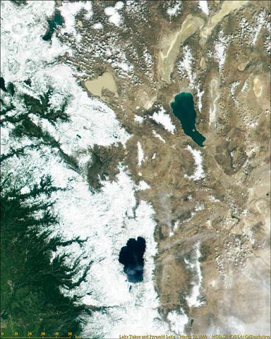 Lake Tahoe and Pyramid Lake - related image preview