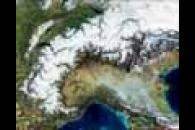 The Alps from MODIS