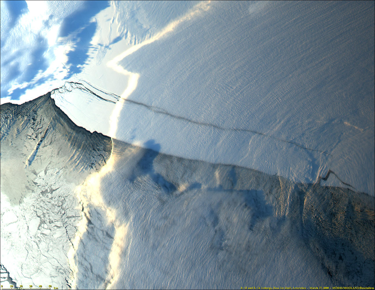 Iceberg B-15, Ross Ice Shelf, Antarctica - related image preview