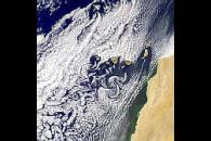Canary Islands Vortex Street