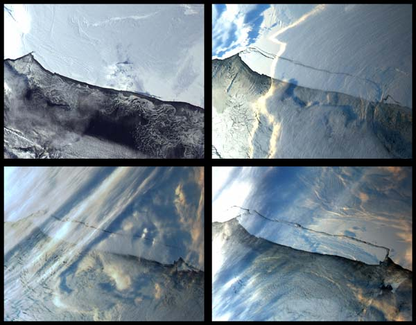 Iceberg B-15 Calving in Antarctica - related image preview