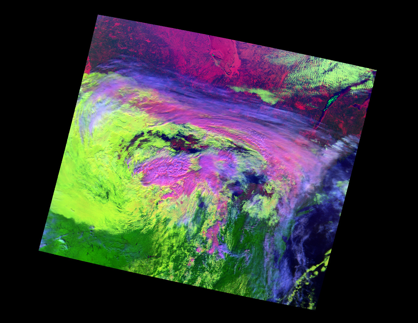 NASA Visible Earth: MODIS Views Variation in Cloud Types