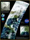 MODIS First Image Poster - selected image