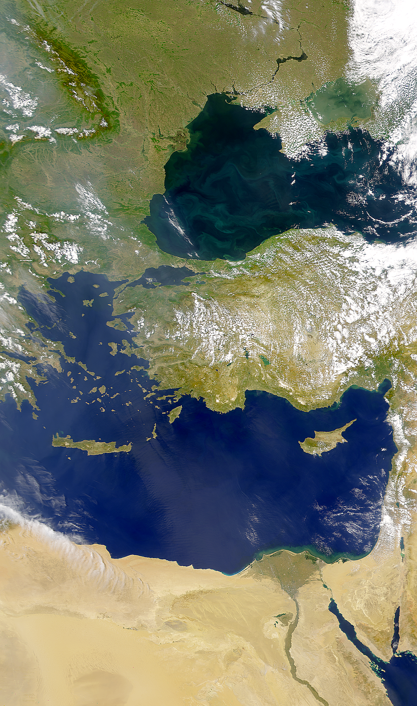 Black Sea and Mediterranean Sea - related image preview