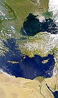 Black Sea and Mediterranean Sea - selected image