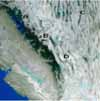 Land Surface Temperature over California from MODIS - selected image