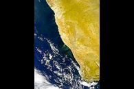 Dust Blowing from Southern Africa