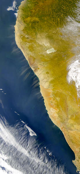 Dust Blowing from Angola and South Africa - related image preview