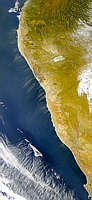 Dust Blowing from Angola and South Africa - selected image