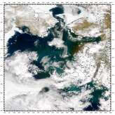 Sediment in Yukon Delta, Bering Sea - selected image