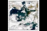 Sediment in Yukon Delta, Bering Sea