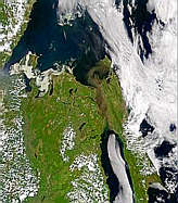 Sediment Flowing from the Amur - selected image