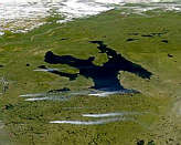 Smoke Plumes near Great Bear Lake - selected image