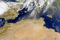 North African Dust over Mediterranean
