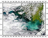 Phytoplankton Bloom in Bering Sea - selected image