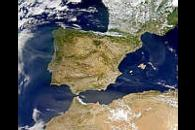 Smoke over Iberian Peninsula