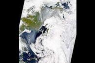 Smoke over Eastern Russia