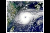 Typhoon Jelawat in East China Sea