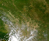 Development around Santa Cruz, Bolivia - selected image
