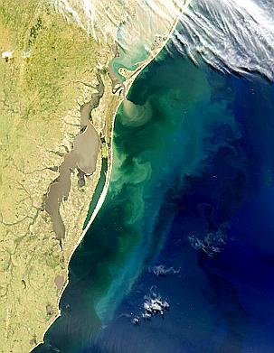 Turbid Lagoons in Southern Brazil - related image preview