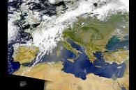 Dust and Smoke Over the Mediterranean and Black Seas