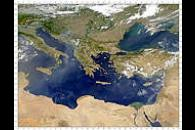 Smoke and Dust Over Eastern Mediterranean