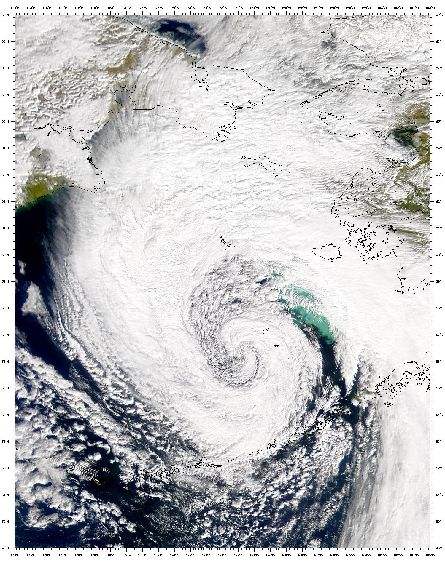 Bering Sea Low Pressure System - related image preview